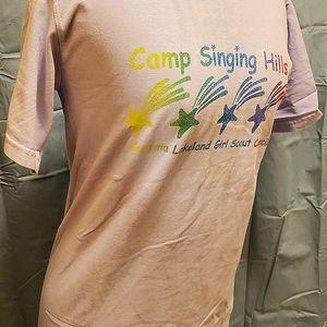 Vintage Glitter Camp Tshirt